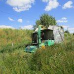 Mahd der Feuchtwiesen im Ösling